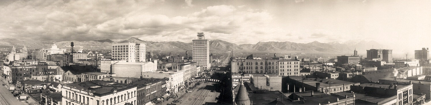 Salt Lake City, Utah, 1913
